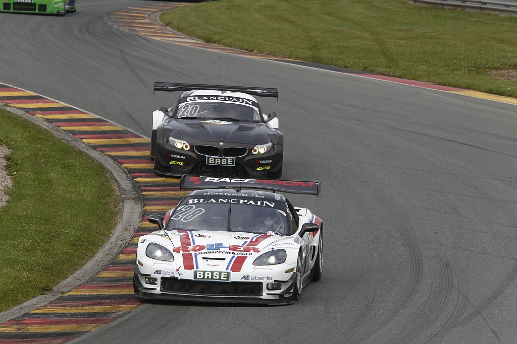 Diego Alessi in der Callaway Competition Corvette