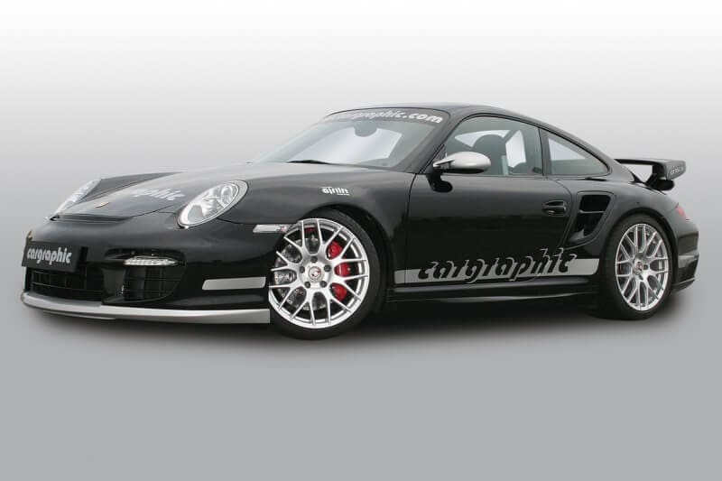 Cargraphic Porsche 997 turbo