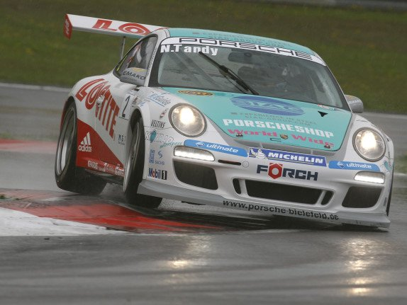Nick Tandy im Porsche Carrera Cup