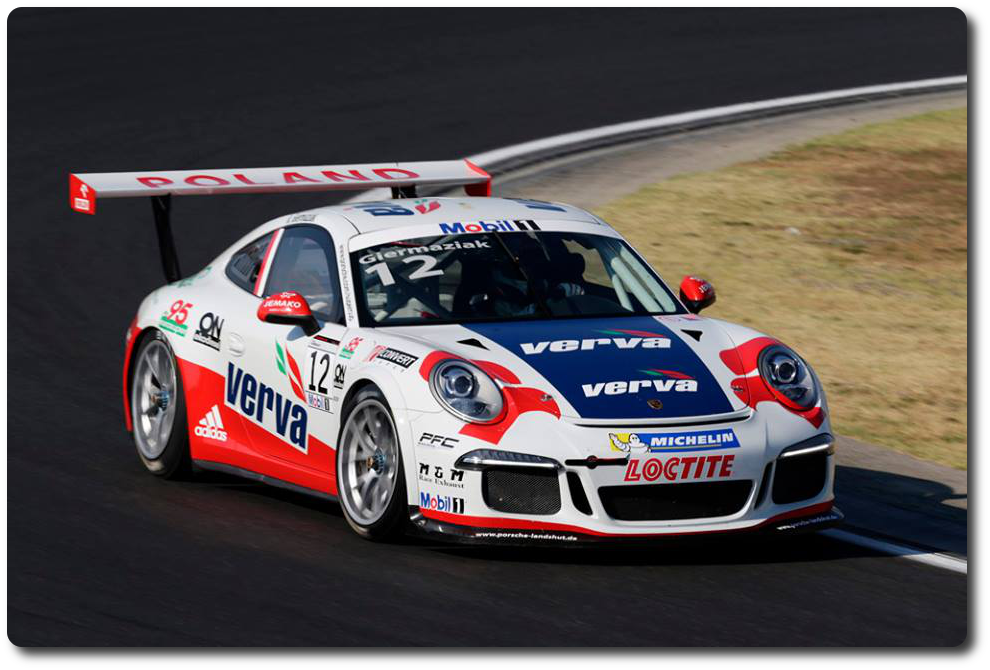 Porsche Mobil 1 Supercup Rennen in Spa-Francorchamps