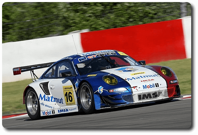 Porsche 997 GTR aus der International GT Open