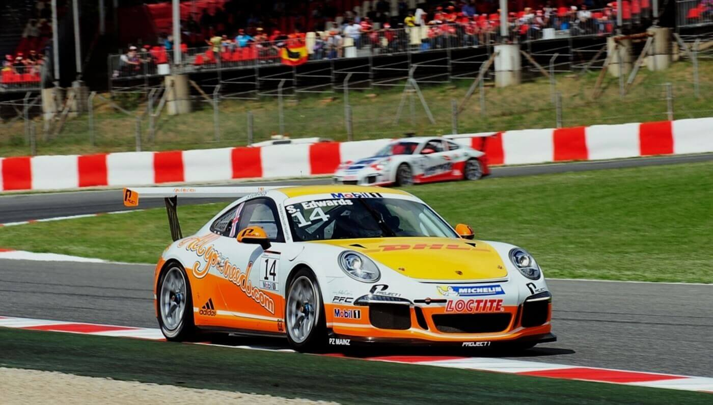 Sean Edwards auf dem Hungaroring