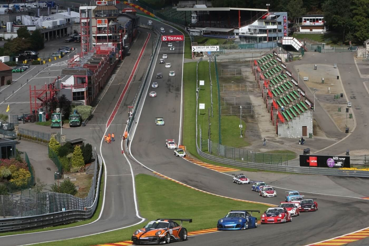 Porsche Sports Cup in Spa-Francorchamps