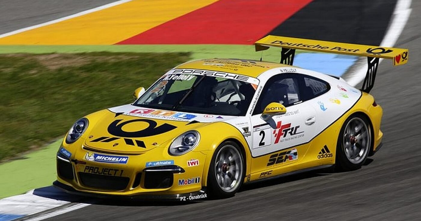 Nick Yelloly im Porsche Carrera Cup in Oschersleben