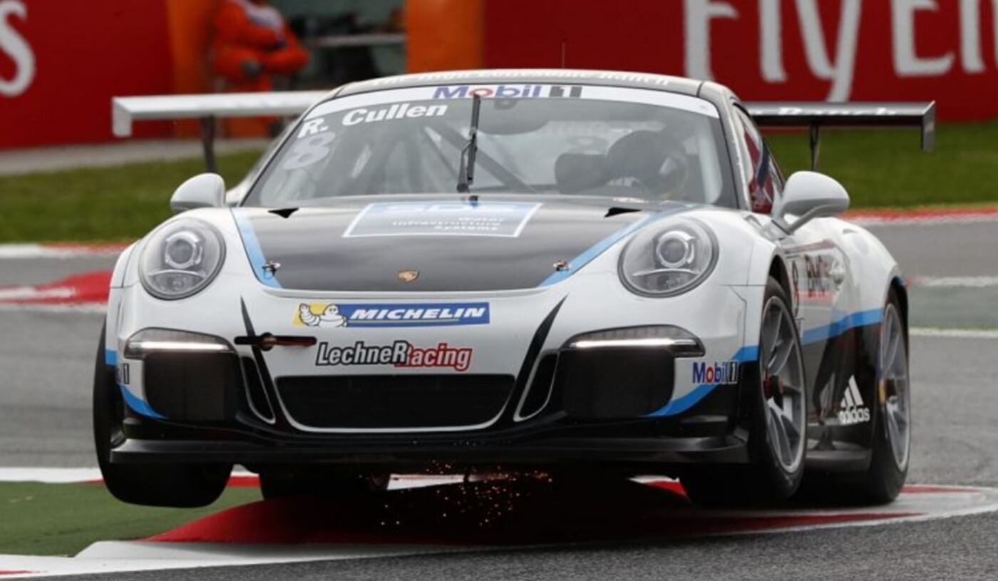 Ryan Cullen im Porsche Mobil 1 Supercup 2017 in Spa-Francorchamps