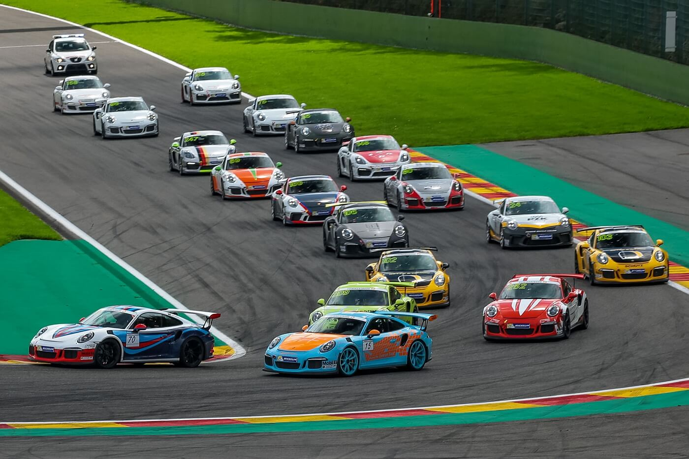 Porsche Sports Cup Saison 2017 Spa-Francorchamps