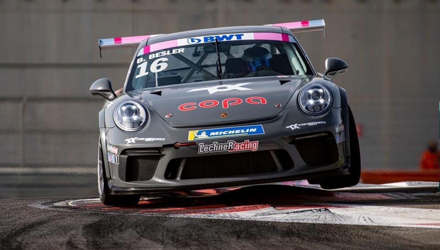 Berkay Besler im Porsche Carrera Cup 2019 in Most