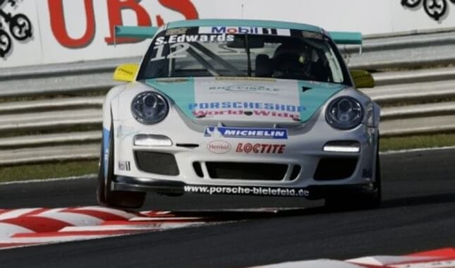 Sean Edwards im Porsche Markenpokal