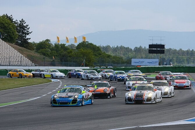 Porsche Sports Cup auf dem Red Bull Ring