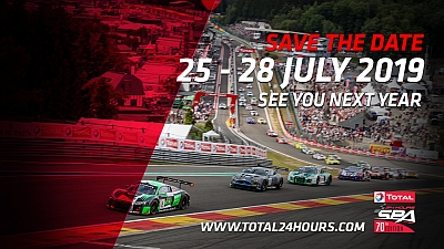 24h Rennen Spa Francorchamps 2019