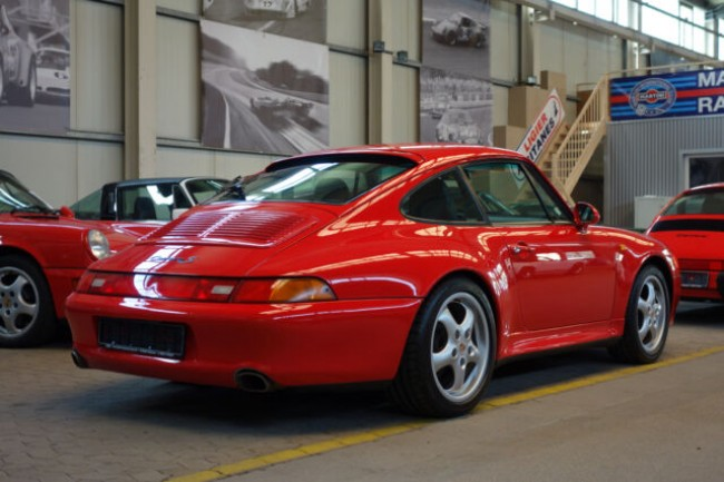 PORSCHE 993 CARRERA S2 COUPE