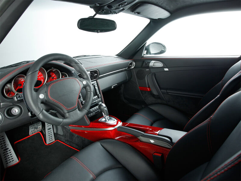 Interieur des SpeedArt Porsche 997 Turbo