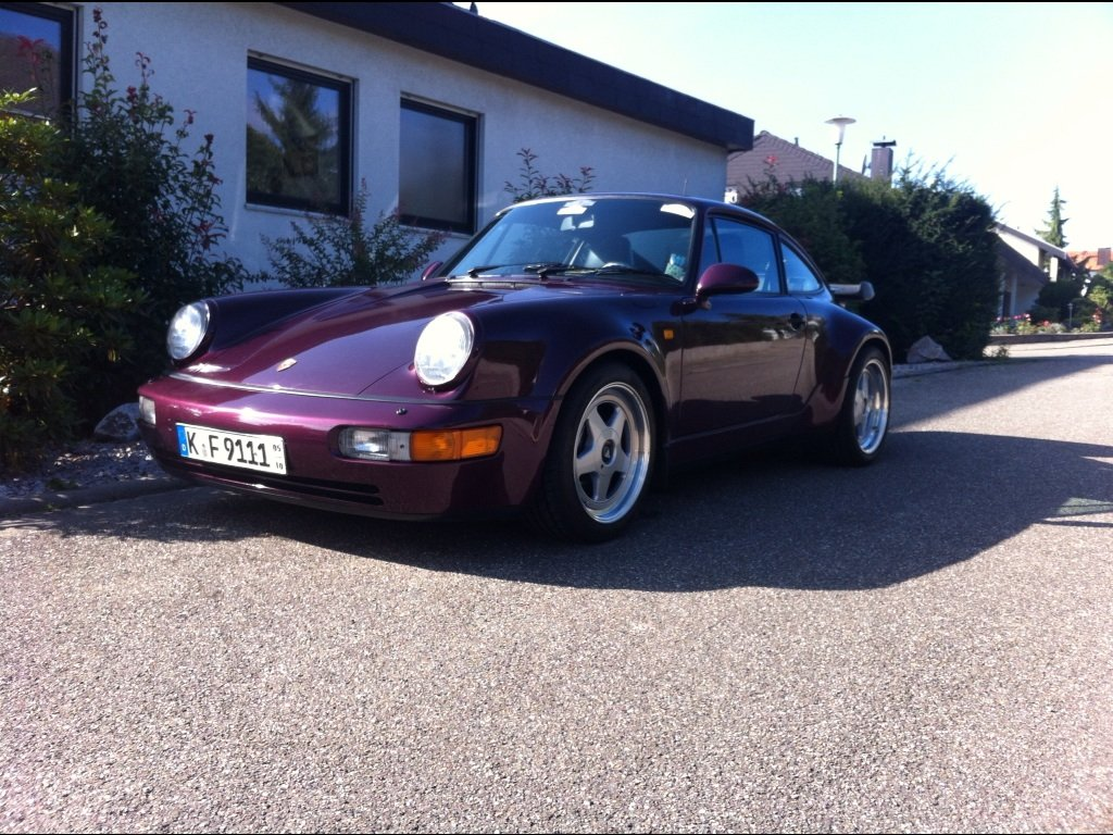 gestohlenes Porsche 964 Turbo Coupe